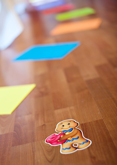 candy land birthday party candy path