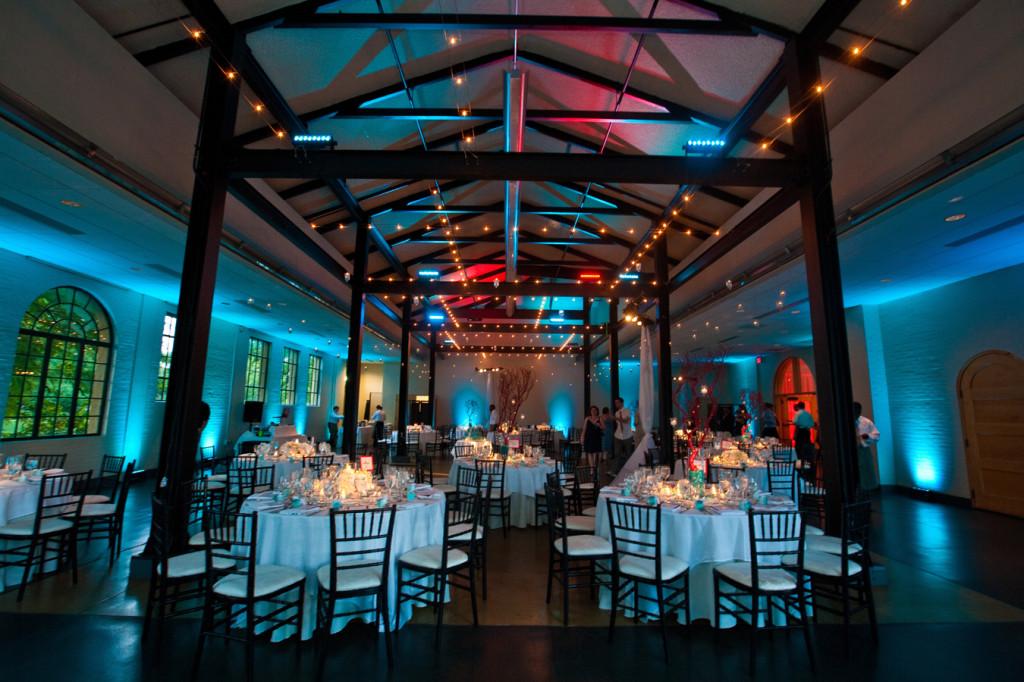 Tiffany Trae An Aqua And Red Modern Wedding In Forest