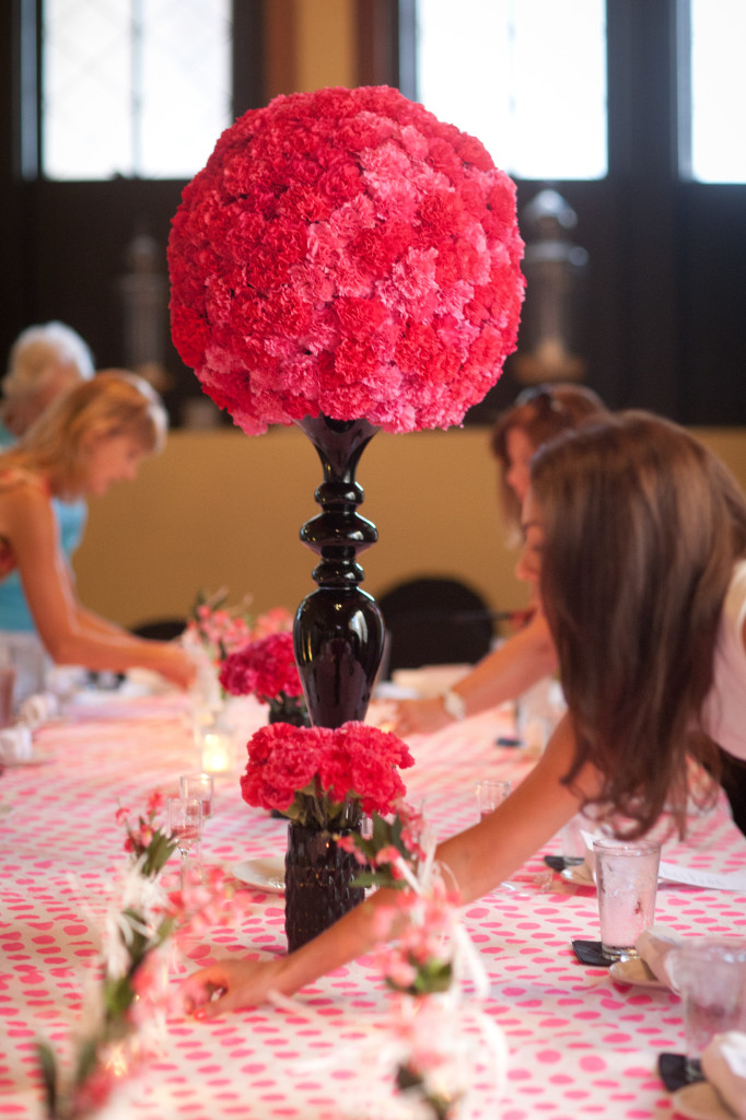 Tall Centerpieces For Sweet : Katerina a sweet sixteen family event events luxe